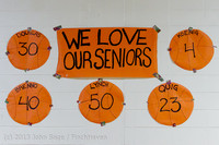 20280 VHS Girls Basketball Seniors Night 2014 021114