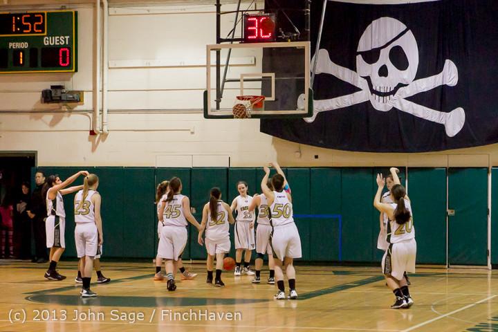 20289 VHS Girls Basketball Seniors Night 2014 021114
