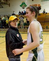 20319 VHS Girls Basketball Seniors Night 2014 021114
