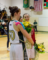 20323 VHS Girls Basketball Seniors Night 2014 021114