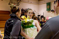 20329 VHS Girls Basketball Seniors Night 2014 021114
