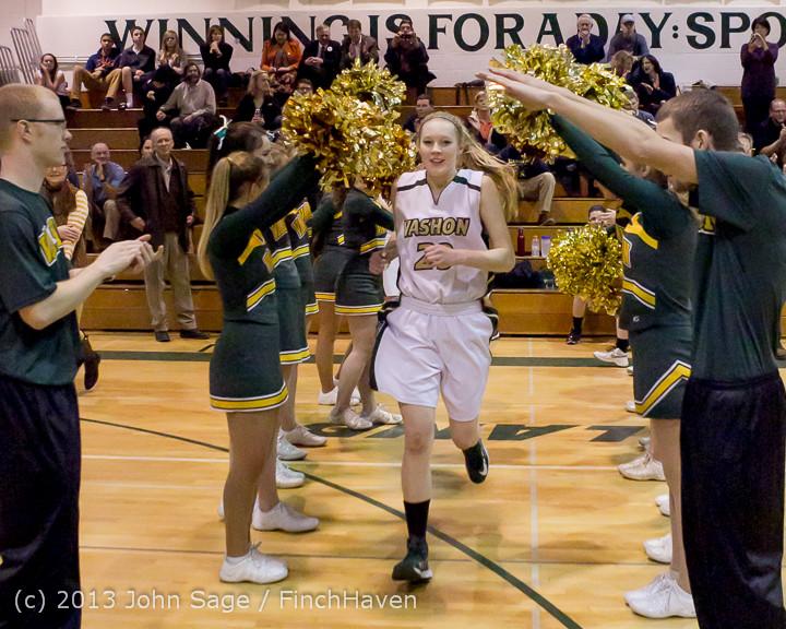 20367 VHS Girls Basketball Seniors Night 2014 021114