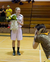 20385 VHS Girls Basketball Seniors Night 2014 021114