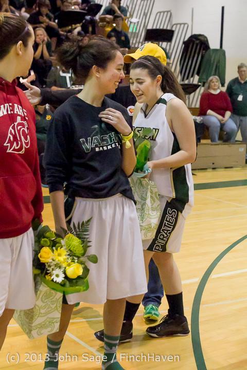 20405 VHS Girls Basketball Seniors Night 2014 021114