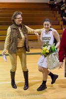 20409 VHS Girls Basketball Seniors Night 2014 021114