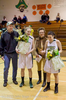 20416 VHS Girls Basketball Seniors Night 2014 021114