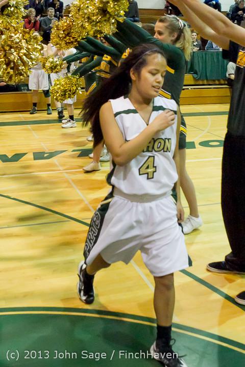 20430 VHS Girls Basketball Seniors Night 2014 021114