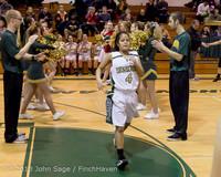 20499 VHS Girls Basketball Seniors Night 2014 021114