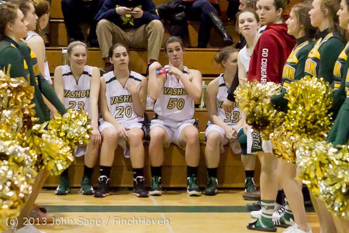 20513 VHS Girls Basketball Seniors Night 2014 021114