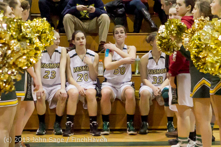 20519 VHS Girls Basketball Seniors Night 2014 021114