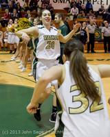 20534 VHS Girls Basketball Seniors Night 2014 021114