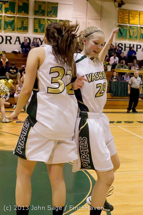 20561 VHS Girls Basketball Seniors Night 2014 021114