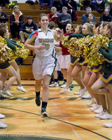 20615 VHS Girls Basketball Seniors Night 2014 021114