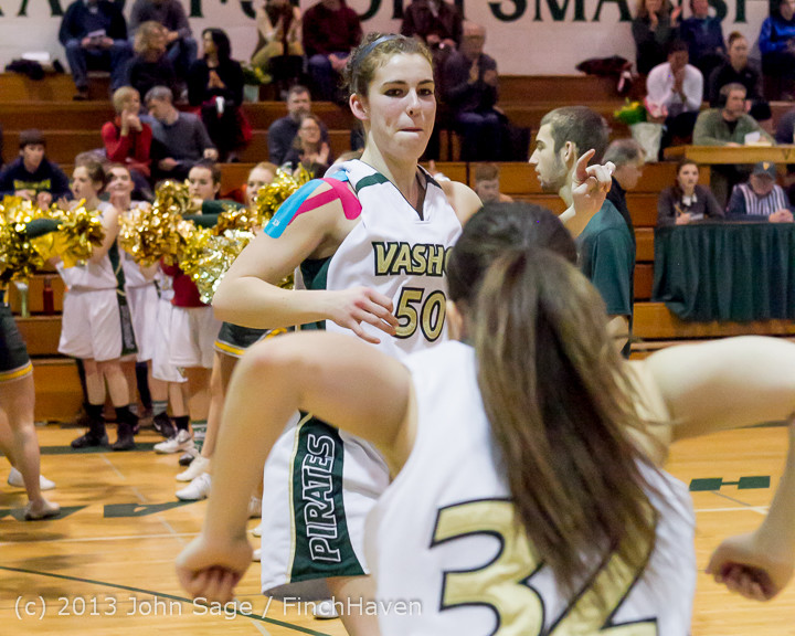 20619 VHS Girls Basketball Seniors Night 2014 021114