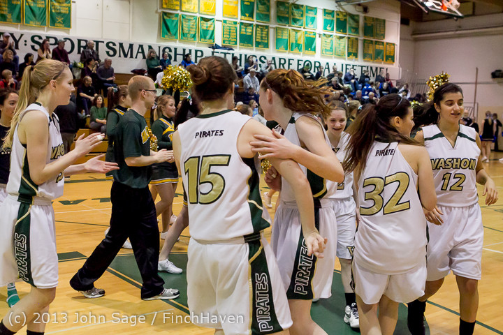 20639 VHS Girls Basketball Seniors Night 2014 021114