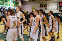 20645 VHS Girls Basketball Seniors Night 2014 021114