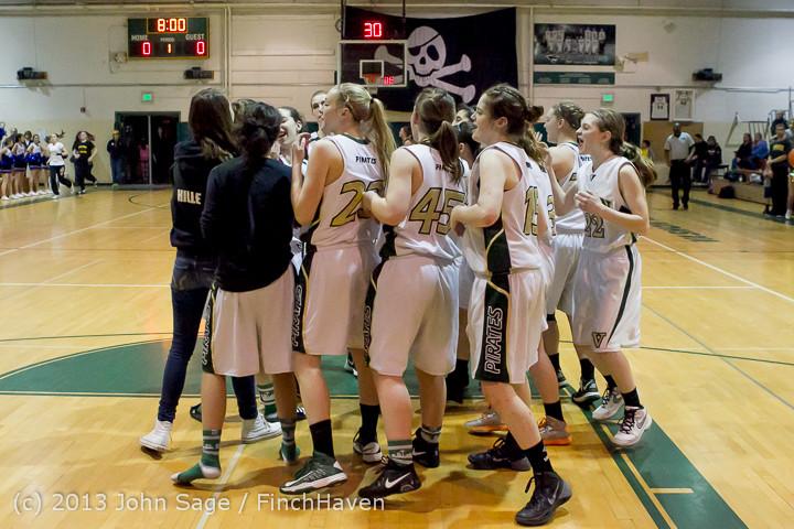 20689 VHS Girls Basketball Seniors Night 2014 021114