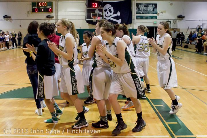 20693 VHS Girls Basketball Seniors Night 2014 021114