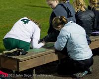 5434 VHS Girls Soccer Seniors Night 2013 102913