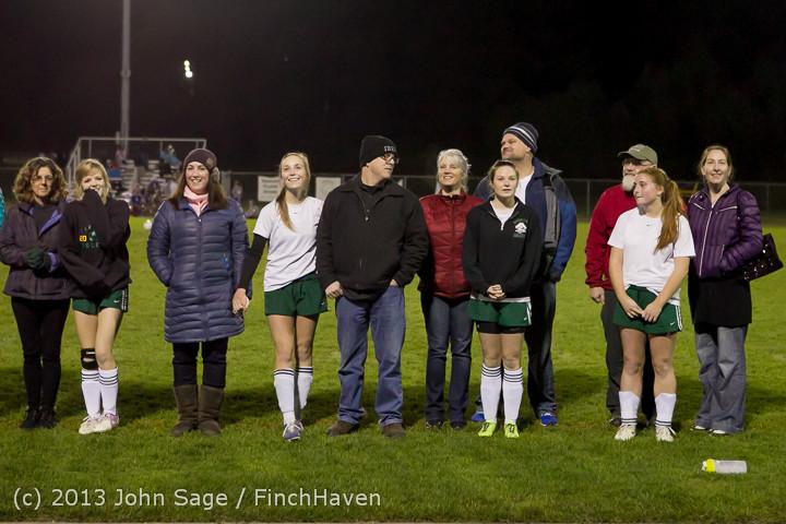 5473 VHS Girls Soccer Seniors Night 2013 102913
