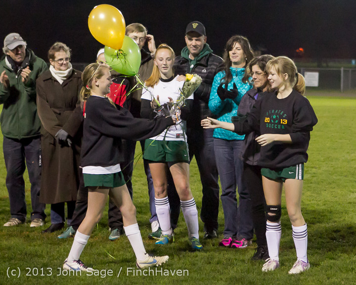 5487 VHS Girls Soccer Seniors Night 2013 102913