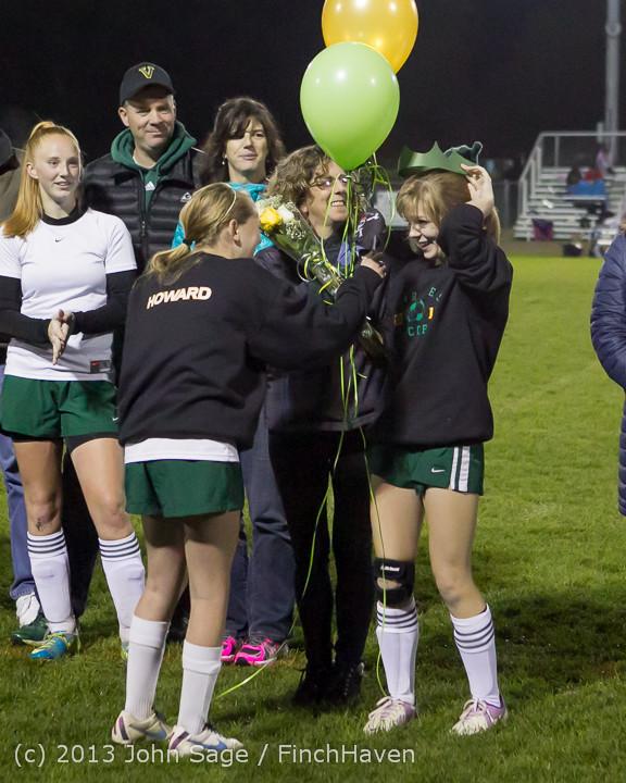 5491 VHS Girls Soccer Seniors Night 2013 102913