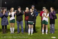 5498 VHS Girls Soccer Seniors Night 2013 102913