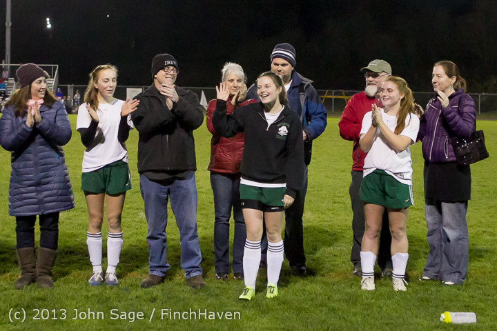 5498 VHS Girls Soccer Seniors Night 2013 102913