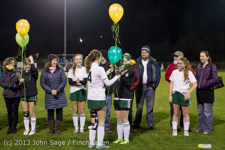 5505 VHS Girls Soccer Seniors Night 2013 102913