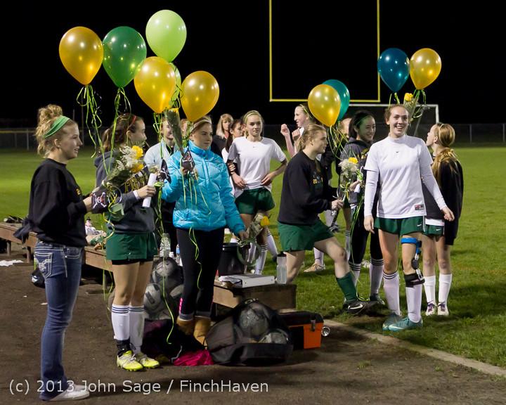 5520 VHS Girls Soccer Seniors Night 2013 102913