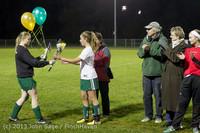 5524 VHS Girls Soccer Seniors Night 2013 102913