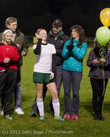 5542 VHS Girls Soccer Seniors Night 2013 102913