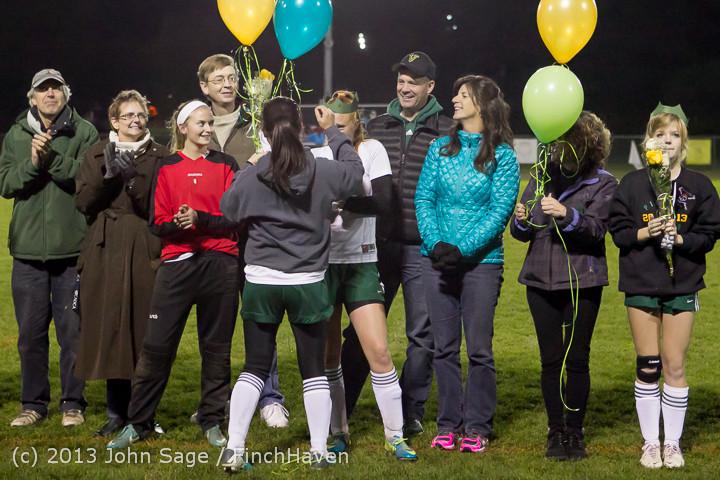 5546 VHS Girls Soccer Seniors Night 2013 102913