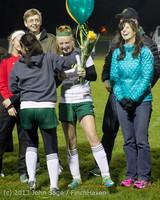 5553 VHS Girls Soccer Seniors Night 2013 102913