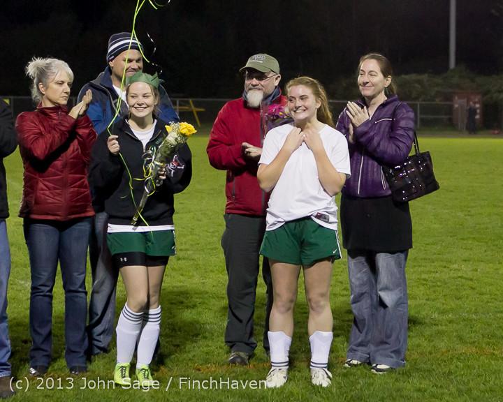 5570 VHS Girls Soccer Seniors Night 2013 102913