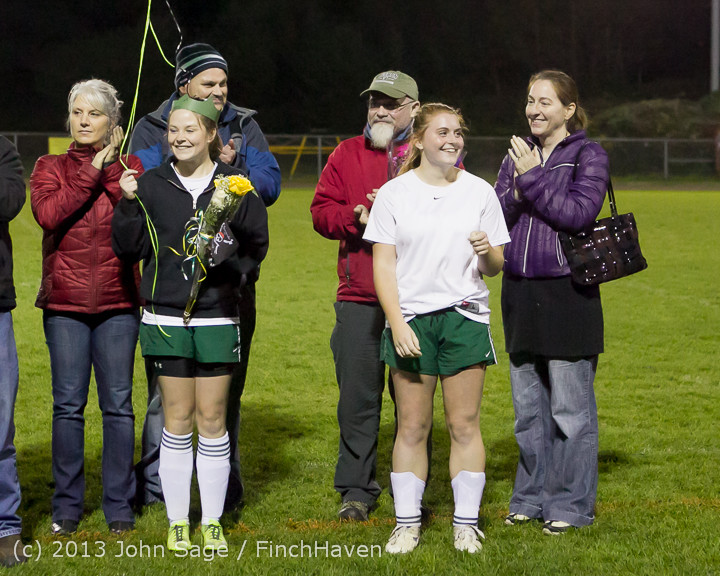 5572 VHS Girls Soccer Seniors Night 2013 102913