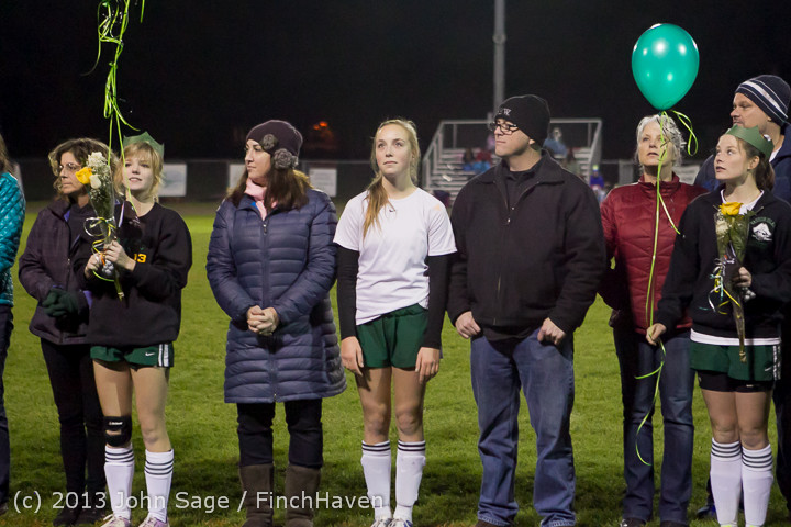 5589 VHS Girls Soccer Seniors Night 2013 102913