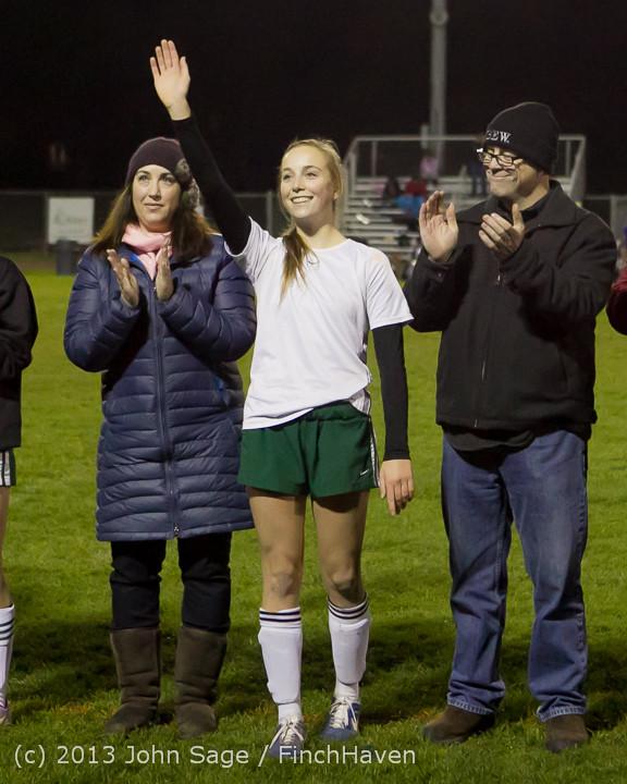 5593 VHS Girls Soccer Seniors Night 2013 102913