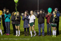 5594 VHS Girls Soccer Seniors Night 2013 102913