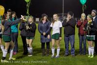 5598 VHS Girls Soccer Seniors Night 2013 102913