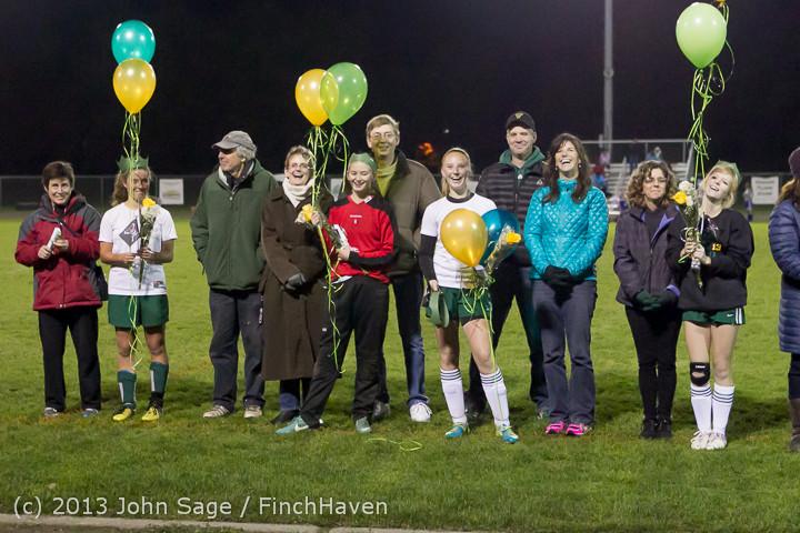 5610 VHS Girls Soccer Seniors Night 2013 102913