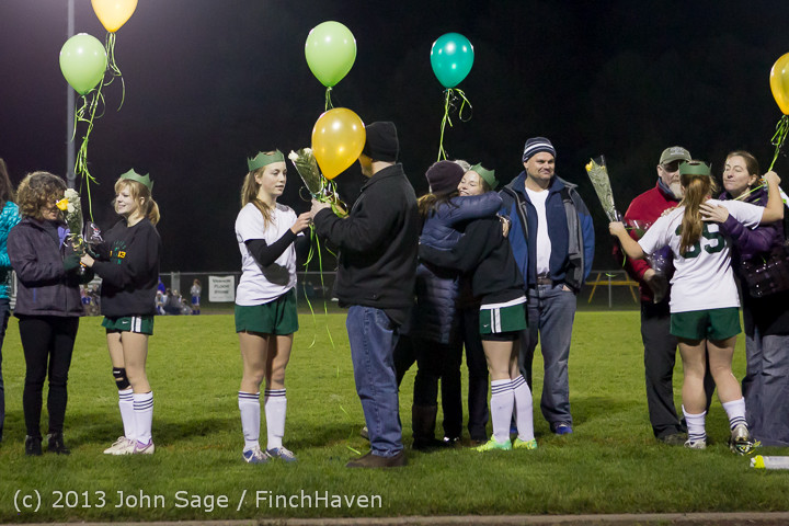 5645 VHS Girls Soccer Seniors Night 2013 102913