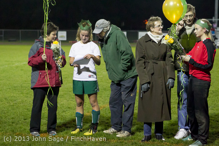 5646 VHS Girls Soccer Seniors Night 2013 102913