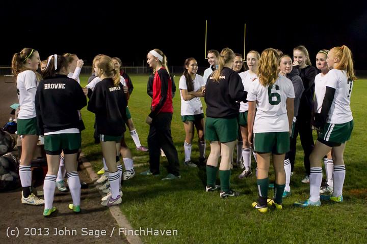 5688 VHS Girls Soccer Seniors Night 2013 102913