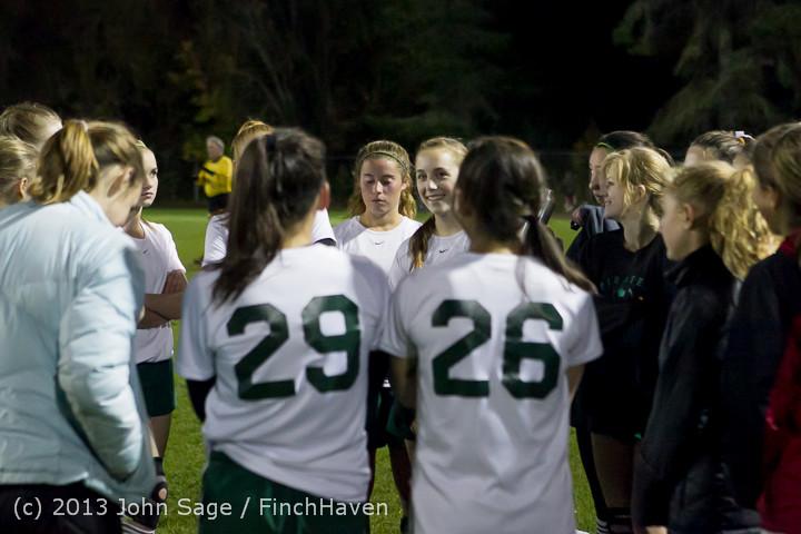 5724 VHS Girls Soccer Seniors Night 2013 102913