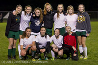 6819 VHS Girls Soccer Seniors Night 2013 102913