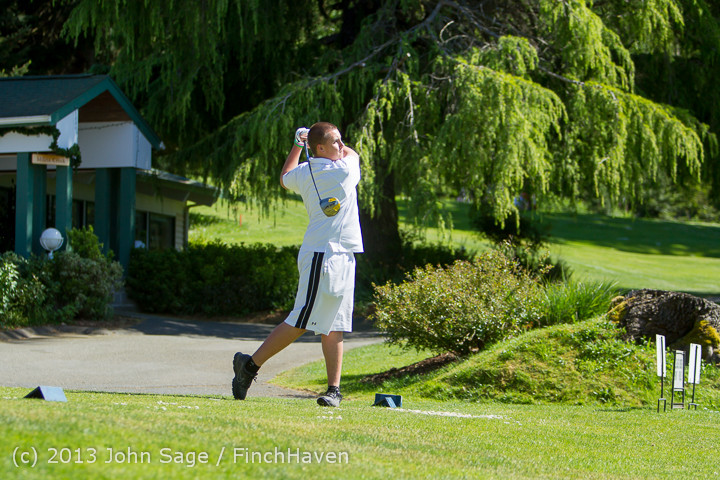 19134 VHS Golf at Vashon Golf and Swim Club 050613