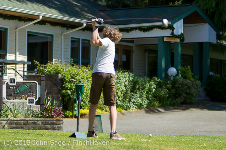 19155 VHS Golf at Vashon Golf and Swim Club 050613