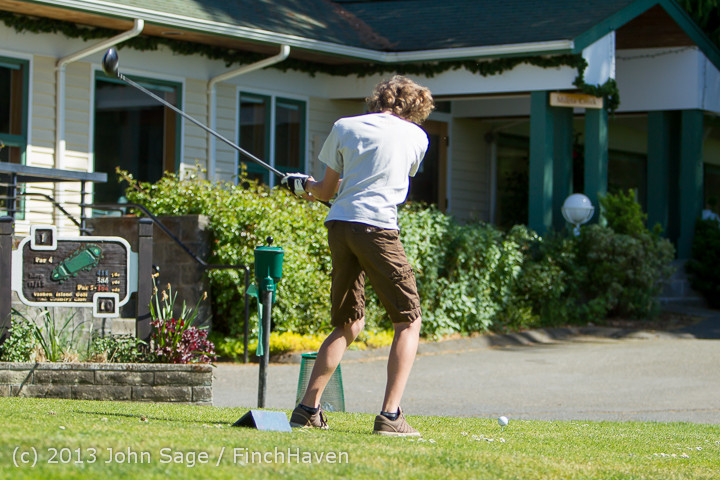 19157 VHS Golf at Vashon Golf and Swim Club 050613