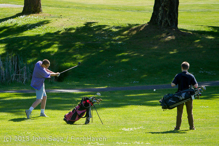19234 VHS Golf at Vashon Golf and Swim Club 050613